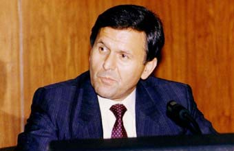 Ambassador Winfred Lang, Austria Conference Chairman Montreal Protocol 1987